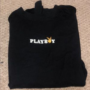 Long Sleeved Playboy Bunny shirt from Pac Sun